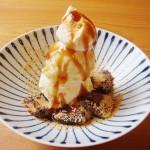 梅園で「ザ・京都」なパフェを食べる。