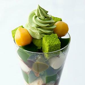 京都の定番 行列のできる抹茶パフェ 〜飲む抹茶、食べる抹茶。〜