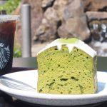 《スタバ・抹茶》Coffee & Espresso ケーキ 抹茶「お持ち帰りしちゃう程の美味しさ」