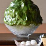 《抹茶エスプーマ》京都で食べる上質抹茶かき氷