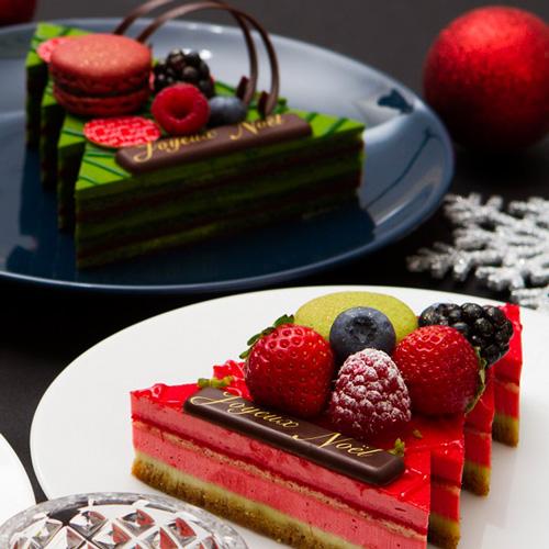 締切間際 抹茶のクリスマスケーキ「パティスリー・サダハル・アオキ・パリ」