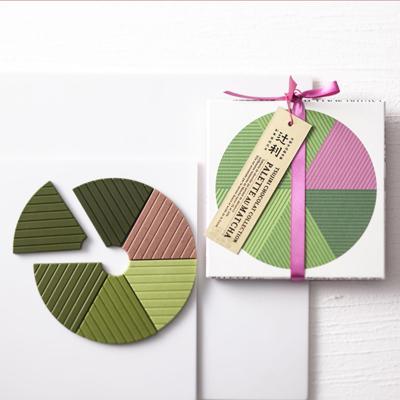 抹茶チョコ バレンタイン限定「辻利ショコラ コレクション」